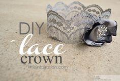 DIY Lace Crowns » Little Inspiration