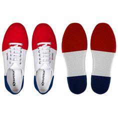 Superga  S002610France  sneaker - Unisex    2750-COTU FLAG FRANCE  Primavera, Estate, Autunno  Spedizione GRATIS in tutta l'unione Europea
