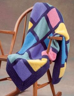 Martingale - 20 Easy Knitted Blankets and Throws (Print version + eBook bundle) Knitted Throw Patterns, Baby Booties Knitting Pattern, Knitted Afghans, Baby Afghans, Knitted Blankets, Baby Knitting, Knitting Patterns, Knitting Projects, Plush Baby Blankets
