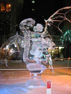 2009年 氷彫刻世界大会  ④kenji kadoguchi  個人戦から… - ~ 北の散歩道 ~