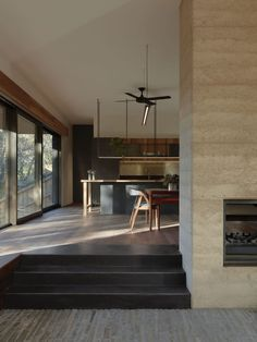 Melbourne sustainable architecture firm Breathe Architecture bring texture and tranquillity to this secluded home in Edgars Creek. Australian Architecture, Architecture Awards, Australian Homes, Residential Architecture, Contemporary Architecture, Interior Architecture, Interior Design, Pavilion Architecture, Landscape Architecture