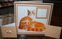 JJ GINGER CATS 6X6 KIT by Gill Dean