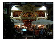 Café Majestic - Rua Santa Catarina, Porto, Portugal - Foto e edição por Jorge Dallavecchia