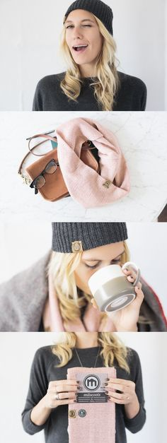 Such a great idea! These Beanies, Scarves and Boot Socks are helping to outfit and employ the transitioning homeless.
