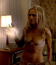 Anna Paquin Shows Off Her Toned Post-Baby Body in Lingerie on True Blood