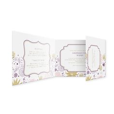 Floral Medley All in One Bat Mitzvah invitationeInviteBar & Bat MitzvahBat MitzvahNature Inspired