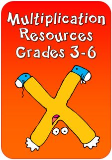 Multiplication resources Grades 3-6