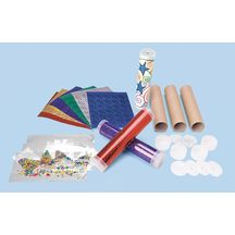 Discount School Supply - Cool Kaleidoscope Craft Kit - Kit for 12  Activity for birthday party