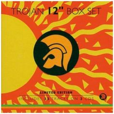 """Trojan 12"""" Box Set:   Primarily focusing upon the material issued on Trojan's own 12'' singles issued during the latter part of the 70s & 80s, this compilation features 35 superb mega-mixes of some of the biggest reggae hits of the day. Included are many of Jamaican music's biggest names including Bob Marley, Dennis Brown, Ken Boothe, Gregory Isaacs, John Holt, & Lee Perry, with the majority of the tracks featured previously unavailable on CD. 3 slipcases housed in a limited calm-shell..."""