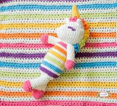 Baby Crochet Plushy Unicorn Pattern