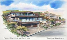 Flamingo | Brion Jeannette Architecture | Newport Beach California | Energy Conscious Design