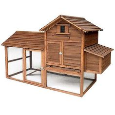 Chicken-Coop-Wood-Hutch-House-Hen-Rabbit-Cage-Pet-Wooden-Backyard-Urban-Chalet 489