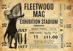 Impresión original de Fleetwood Mac: En vivo en el estadio de la exposición de 1977. Parte de la gira de rumores. Se trata de un original diseño inspirado en las clásicas actuaciones de artistas legendarios. Este llamativo cartel estilo vintage grabado sería un gran regalo para cualquier fan de Fleetwood Mac. Celebra las actuaciones de 1977 legendario de cantantes en el estadio de la exposición. ESTAS IMPRESIONES PUEDEN SER PERSONALIZADAS A OTRA FECHA, ÉNTREME EN CONTACTO CON PARA MÁS…