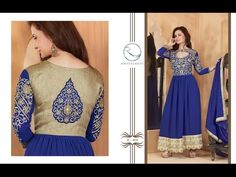 Party Wear Salwar Suit Collection - India Faux Georgette Aesthetic Deep Mystic Blue with Heavy Stone Embroidery with Laces Work. Bottom Fabric – Santoon, Dupatta Fabrics – Naznin Dup With Stones And Lace Work. Shop Now - http://www.aimdeals.com/cupcake-enterprise