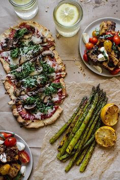 I like the way this pizza is cut.  The Best Gluten-Free Pizza [& vegan!] | edibleperspective.com #vegan #glutenfree