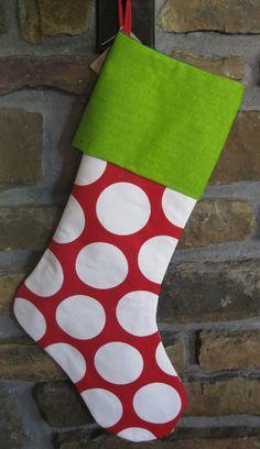 Christmas Stocking  - Christmas Decorations - Premier Prints. $24.00, via Etsy.