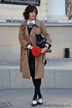 On the streets of Moscow_street style by stela