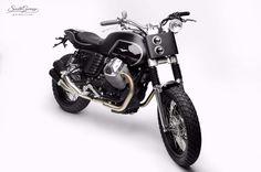 Garage Project Motorcycles : caferacerpasion: Moto Guzzi V7 Street Tracker...