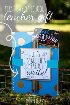 12 Free Start of School Printables // Great Teacher Gift Ideas