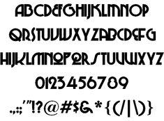 48 Best Lookbook - Fonts images in 2014 | Retro font, 1920s, Alpha bet