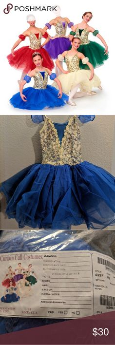 """I just added this listing on Poshmark: """"Persuasion"""" Ballet Costume - Blue. #shopmycloset #poshmark #fashion #shopping #style #forsale #Curtain Call Costume #Other"""