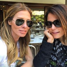 Another daytime date?: The 43-year-old Stonestreet posted a photo with Frankel and Bravo star Carole Radziwill with the caption, 'Took a picture of these 2 randos today'