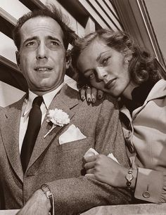 Humphrey Bogart and Lauren Bacall get married May 21, 1945. Life Magazine Photo.
