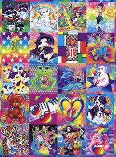Lisa Frank stickers and folders. Childhood Movies, Childhood Days, Steampunk Circus, Lisa Frank Stickers, Indie Art, 90s Kids, Cute Wallpapers, Cute Drawings, Backgrounds