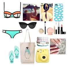 """""""#SeaLooks"""" by ellen2104 ❤ liked on Polyvore featuring Bora Bora, Victoria's Secret PINK and Wet Seal"""