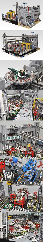 Clone Wars Diorama #LEGO #StarWars #Clone #Diorama