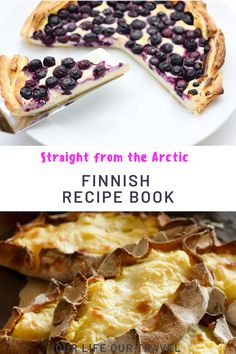 Are you starving for some delicious Finnish Food? This Finnish cookbook will guide you through some tasty traditional Finnish Food. Finnish recipes - Easy Finnish food. Easy recipes. Blueberry recipes, pie recipes, soup recipes, stew recipes and more. #finnishfood #finland #finnishcuisine #cookbook #recipebook #easy #traditional #ourlifeourtravel