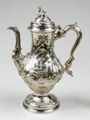 Coffeepot THOMAS WHIPHAM AND CHARLES WRIGHT (BRITISH, ACTIVE 1757–1775) 1767-1768