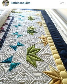 Quilt by Christy Fincher. Quilting by kathleenquilts.
