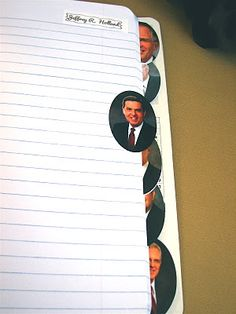 This just might be my favorite thing that I've ever seen!!!!! Tabs of the apostles! I can have a section for each of them during conference and just my general gospel studies!