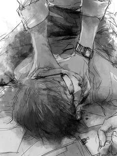 Take my breath away Ero Guro, Ken Tokyo Ghoul, Dark Evil, Novel Characters, Blue Exorcist, Dark Anime, Black And White Pictures, Touken Ranbu, Dark Art