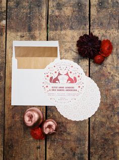 Red and Copper Wedding Ideas | Wedding Sparrow