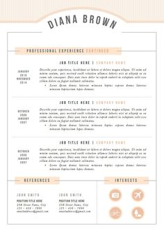 Template For A Resume Download Template Cv Kreatif Word Desain Cv Kreatif Template Cv