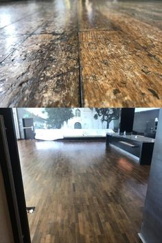 """This floor was sealed with Woodoc Water-Borne FLOOR (Clear/Matt) and Woodoc Stain Concentrate """"Teak"""". Teak, Indoor, Flooring, Wood, Water, Interior, Gripe Water, Woodwind Instrument, Timber Wood"""