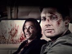 Jensen and Jared BTS of #SupernaturalBaby
