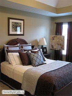 tranquil modular master bedrooms | Классические интерьеры спален