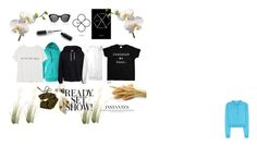 """""""casual style"""" by lim-qiqi on Polyvore featuring Miu Miu, Kerr®, SWEAR, MANGO and Hansen"""