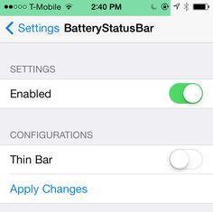 BatteryStatusBar-cydia