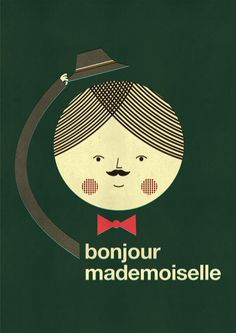 Bonjour Mademoiselle: He's such a cutie.