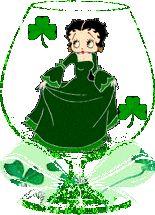 Irish Betty Boop