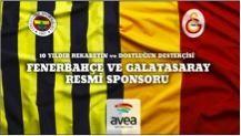 Avea, Fenerbahçe ve Galatasaray futbol takımlarının 10 yıldır resmi sponsoru