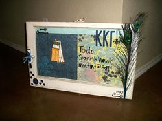 Kappa Kappa Gamma themed Window!