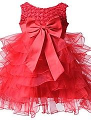 BHL Infant Girl's Red Floral Dress Sleeveless B... – USD $ 20.49
