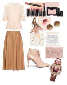 """fashion"" by avestaisikli on Polyvore featuring moda, Tanya Taylor, MaxMara, Opening Ceremony, Farrow & Ball, Anja, Victoria Beckham, Jaquet Droz ve NARS Cosmetics"
