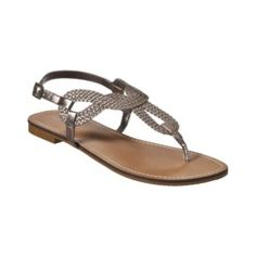 Merona - Emeline Sandal  - only $15 and easily the most comfortable sandal I have ever worn. They look great with everything, too. I have all the colors :-)