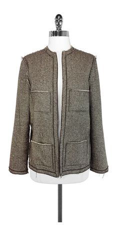 Lanvin Open Front Jacket